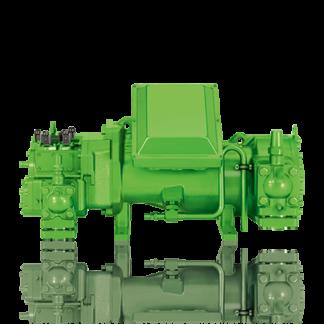 Полугерметичные винтовые компрессоры Bitzer