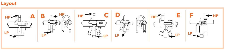 4-Way Reversing valve Eliwell