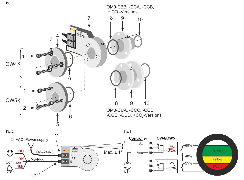 Alco controls OW4 - 9