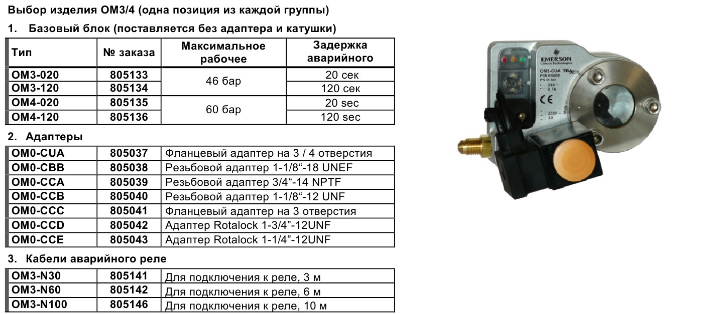 Alco controls TraxOil OM3 - 4