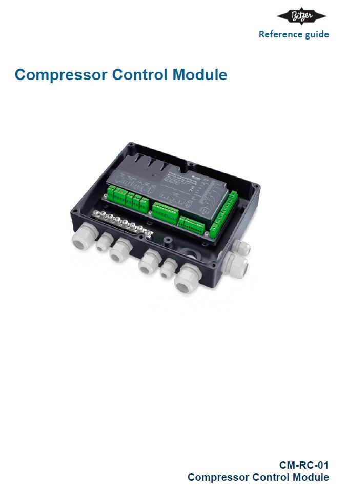 Электронные модули для полугерметичных поршневых компрессоров (IQ Module) Bitzer