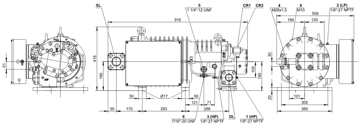 bitzer HSK6461-60(Y)
