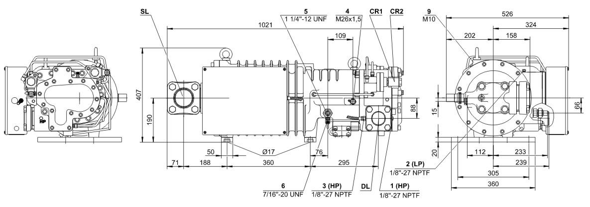 bitzer HSK7461-80(Y)