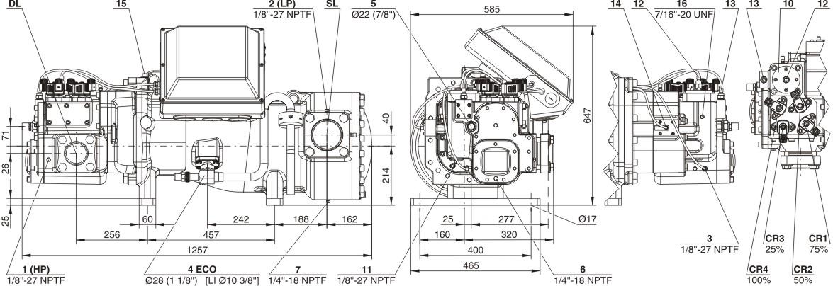 bitzer HSK8561-90(Y)