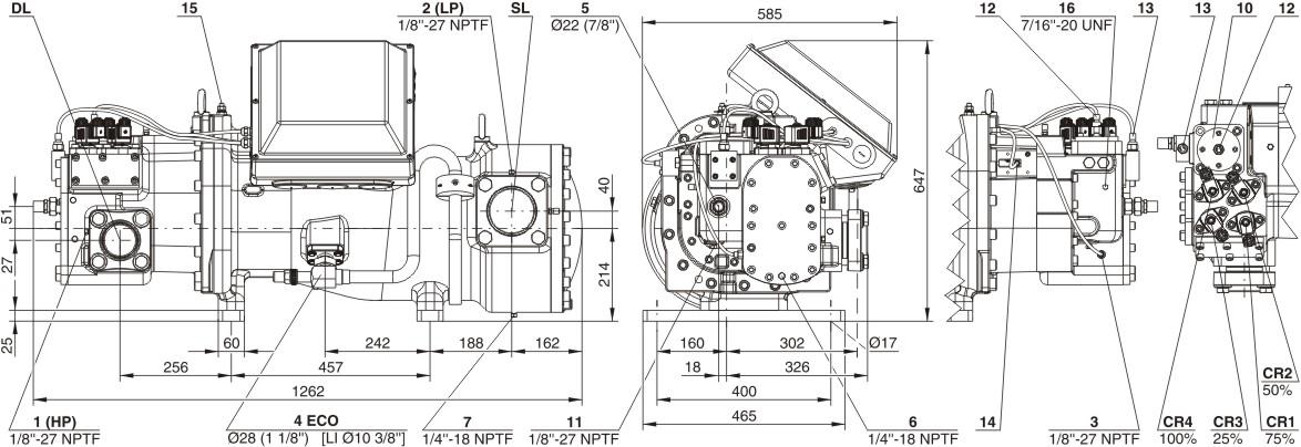 bitzer HSK8581-125(Y)