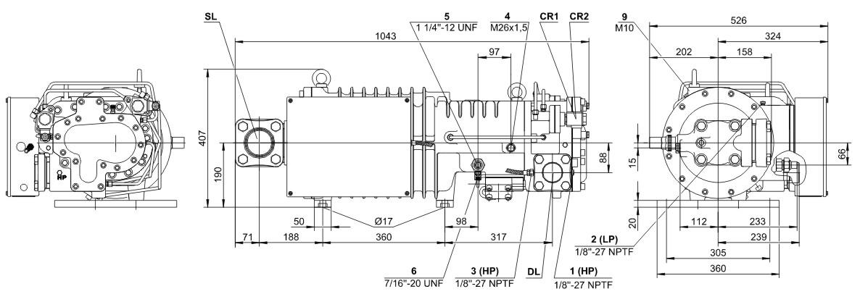 bitzer HSN7471-75(Y)