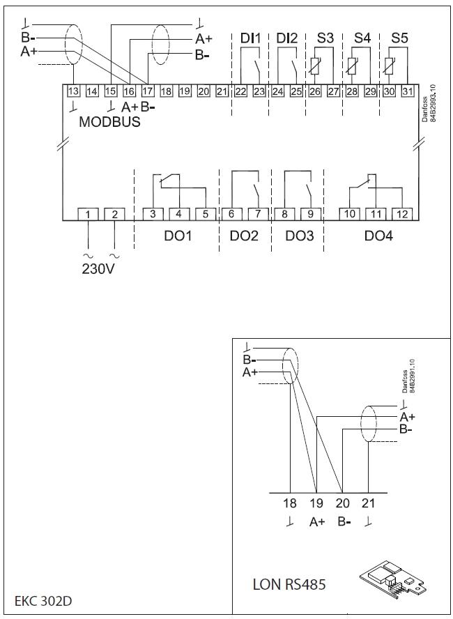 Danfoss 084B4164