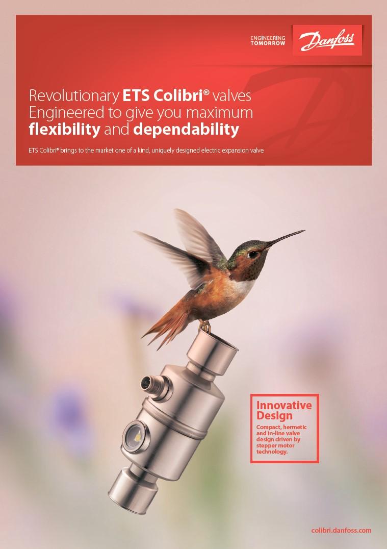 Электронные расширительные клапаны Danfoss ETS Colibri