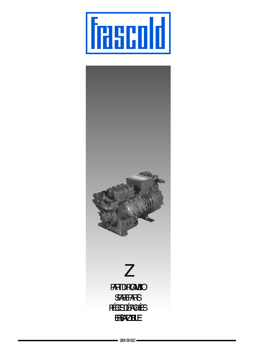 Z - series (Spare parts)