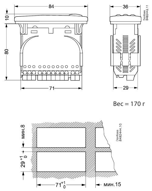 EKC102A dimen