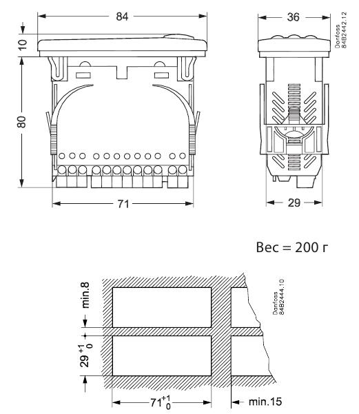 EKC202B dimen