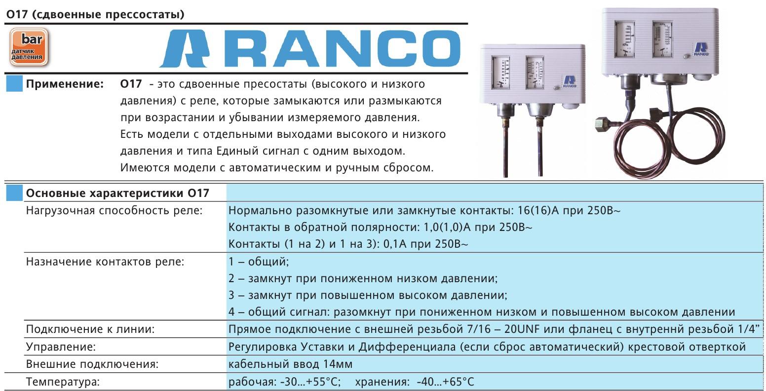 Ranco 017