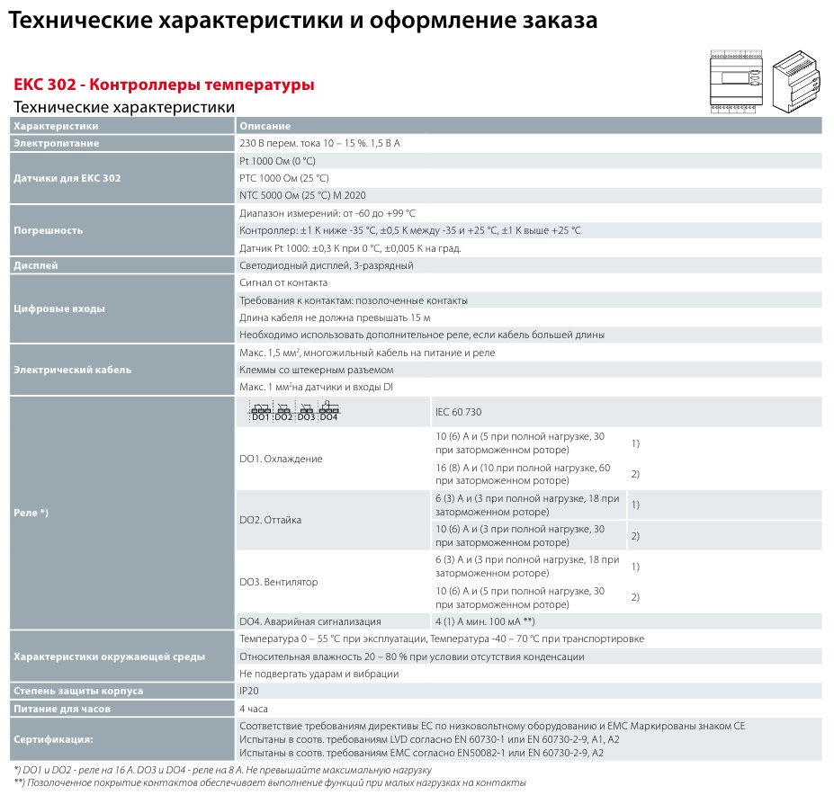 Danfoss EKC 302 D