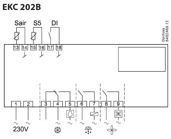 danfoss EKC202B