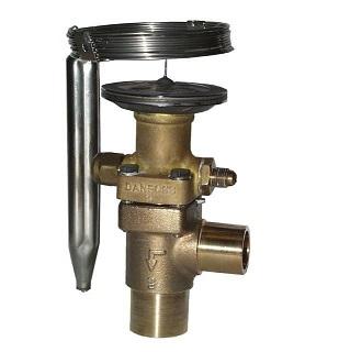 Терморегулирующие клапаны Danfoss TE12/TE20