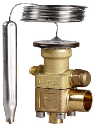 Терморегулирующие клапаны Danfoss TE5