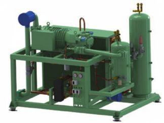 Компрессорные станции на базе низкотемпературных винтовых компрессоров Bitzer