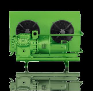 Компрессорно-конденсаторные агрегаты с компрессорами открытого типа Bitzer