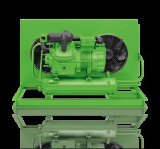 Компрессорно-конденсаторные агрегаты Bitzer (с двухступенчатыми поршневыми компрессорами)