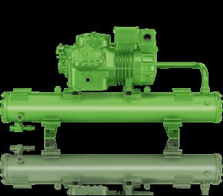 Компрессорно-конденсаторные агрегаты водяного охлаждения Bitzer