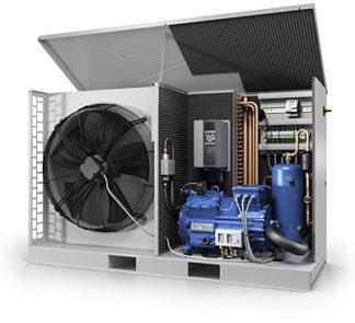 Компрессорно-конденсаторные агрегаты GEA Bock Plusbox