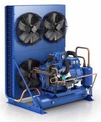 Компрессорно-конденсаторные агрегаты с двухступенчатыми компрессорами GEA Bock